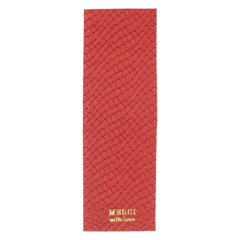 Marcador-de-Livro-Vermelho-Escama