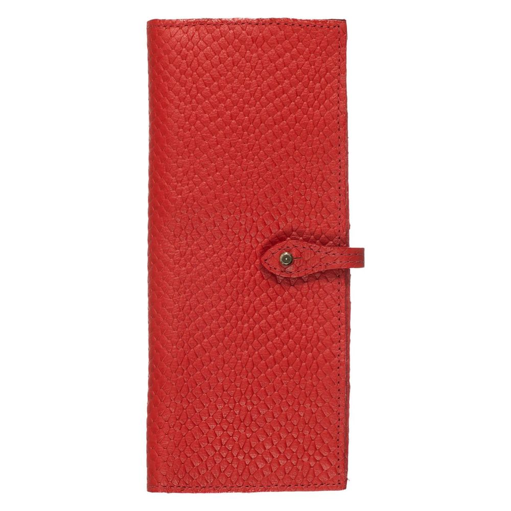 Porta-Cheque-Vermelho-Escama