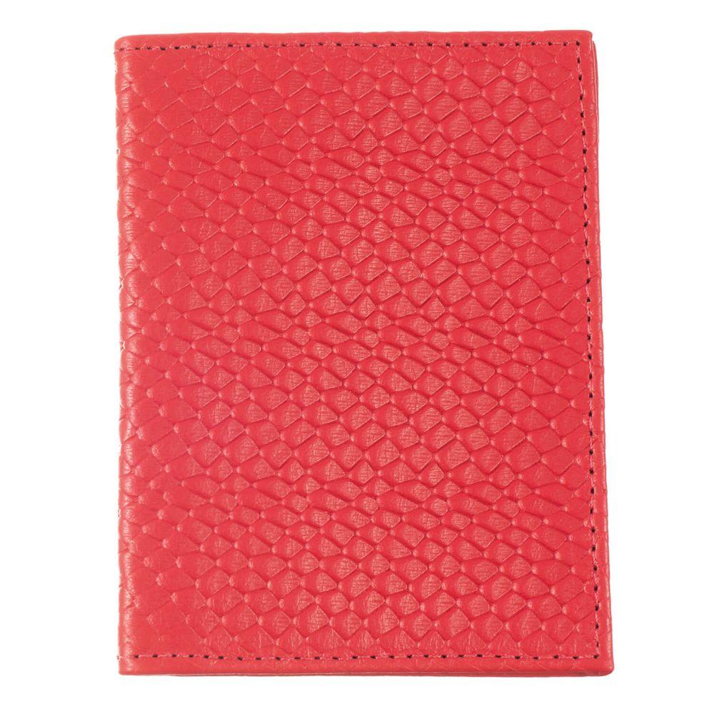 Porta-Documentos-de-Carro-Vermelho-Escama