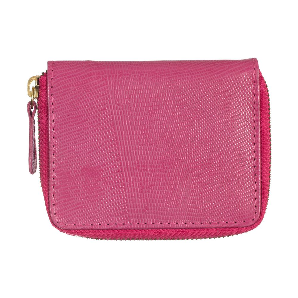 Carteira-de-Dinheiro-Pequena-Ziper-Pink-Lesarzinho