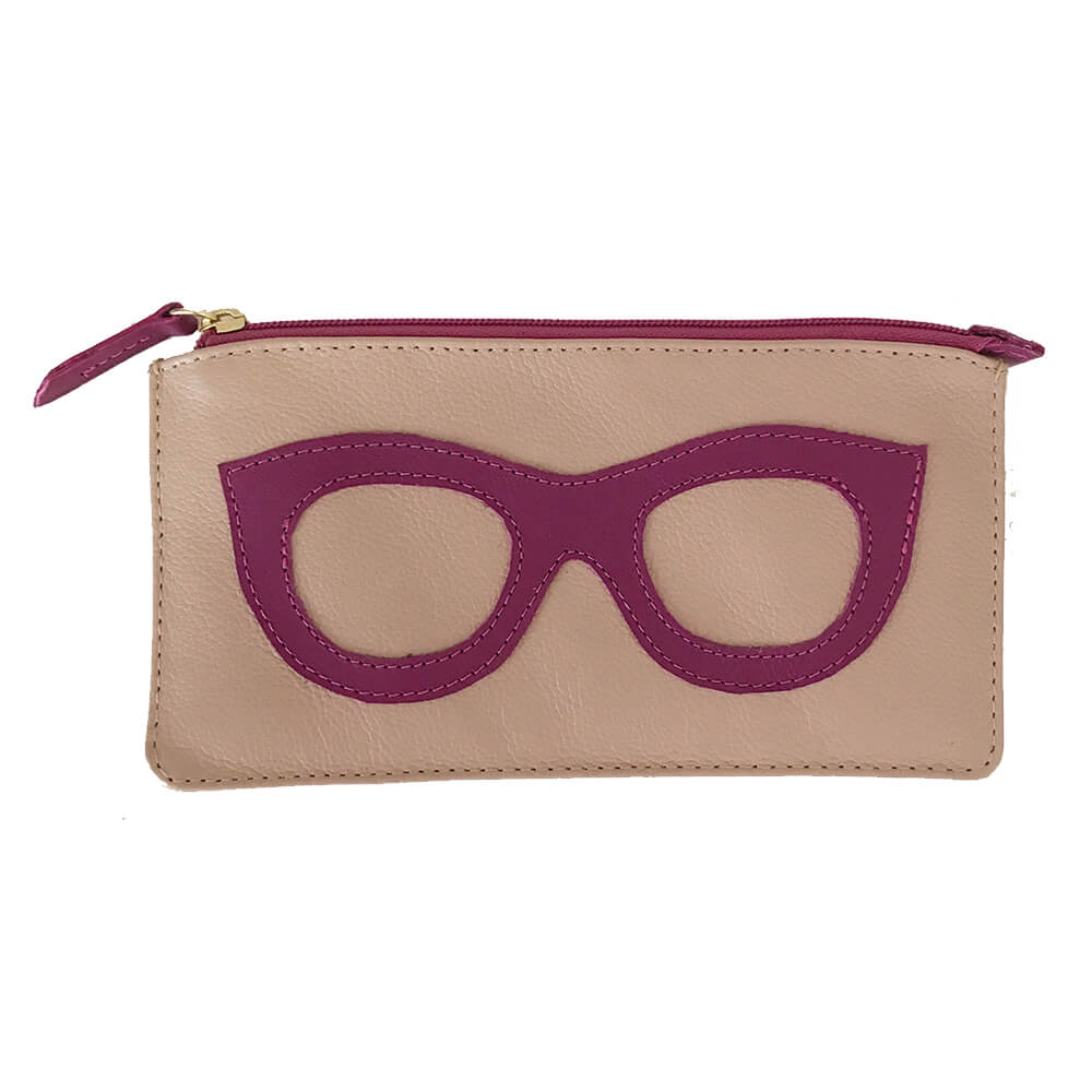 Porta-Oculos-Lunettes-Rose-com-Fucsia