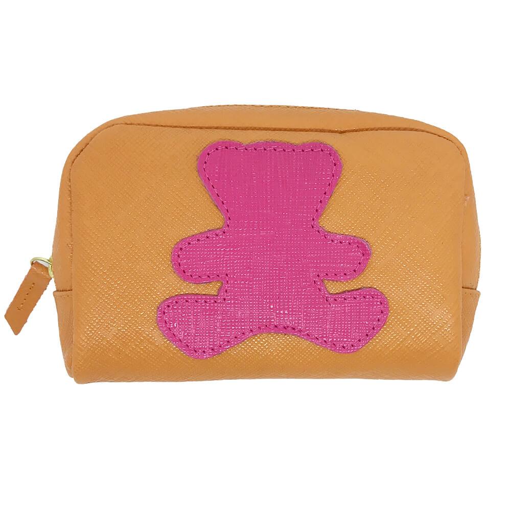Necessaire-Little-Bear-P-Tangerina-com-Pink-Prada