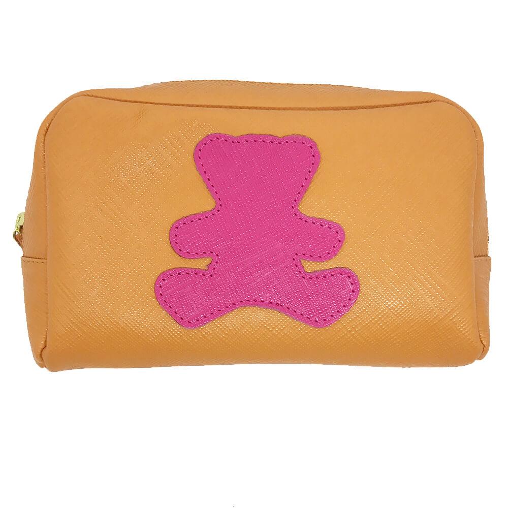 Necessaire-Little-Bear-M-Tangerina-com-Pink-Prada