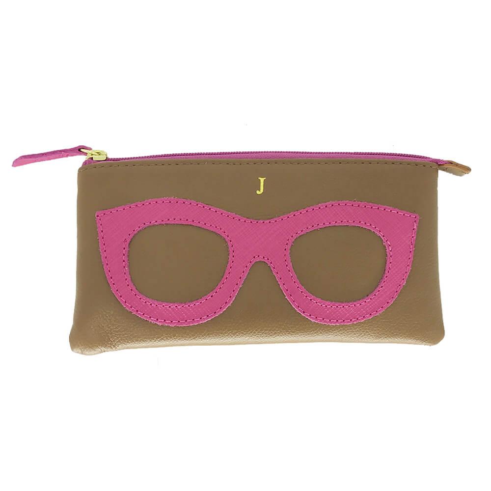 Porta-Oculos-Lunettes-Caramelo-com-Pink-Lesarzinho