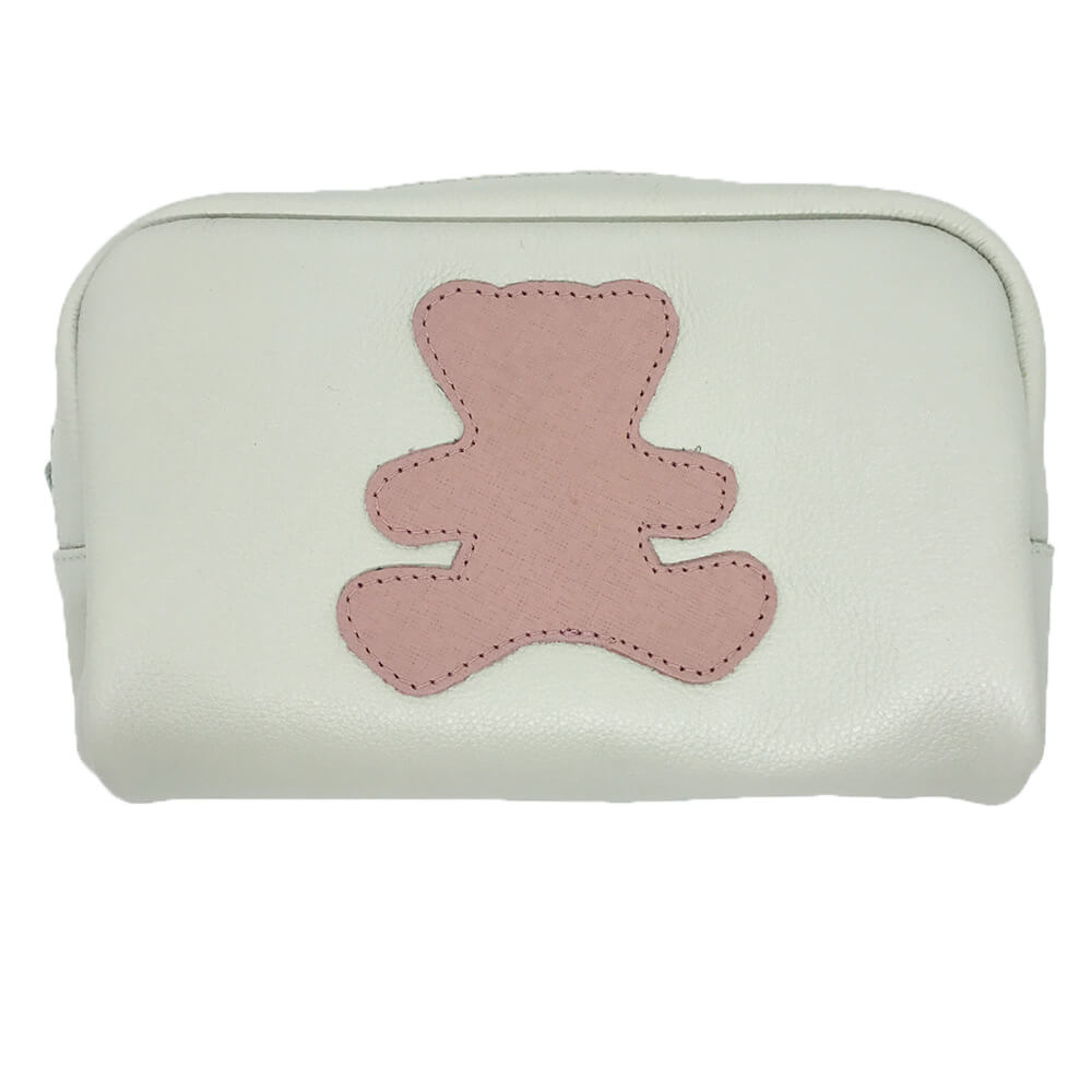 Necessaire-Little-Bear-M-Off-White-com-Algodao-Doce