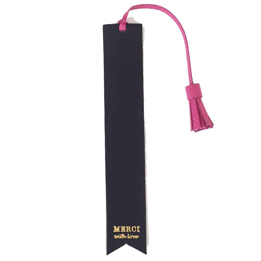 Marcador-de-Livro-com-Pendente-Preto-com-Pink