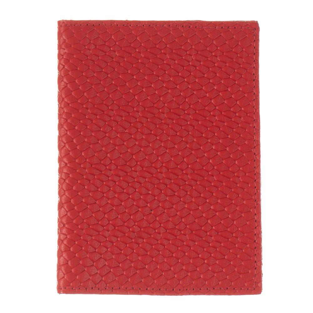 Porta-Passaporte-Vermelho-Escama