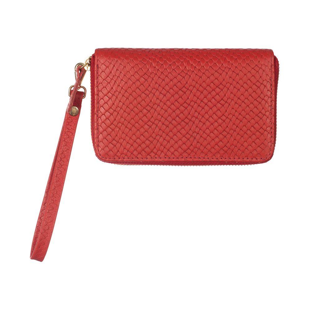 Carteira-de-Dinheiro-Media-Ziper-Vermelho-Escama