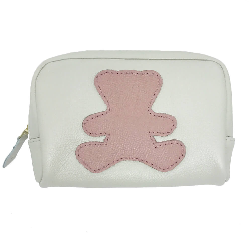 Necessaire-Little-Bear-P-Off-White-com-Algodao-Doce