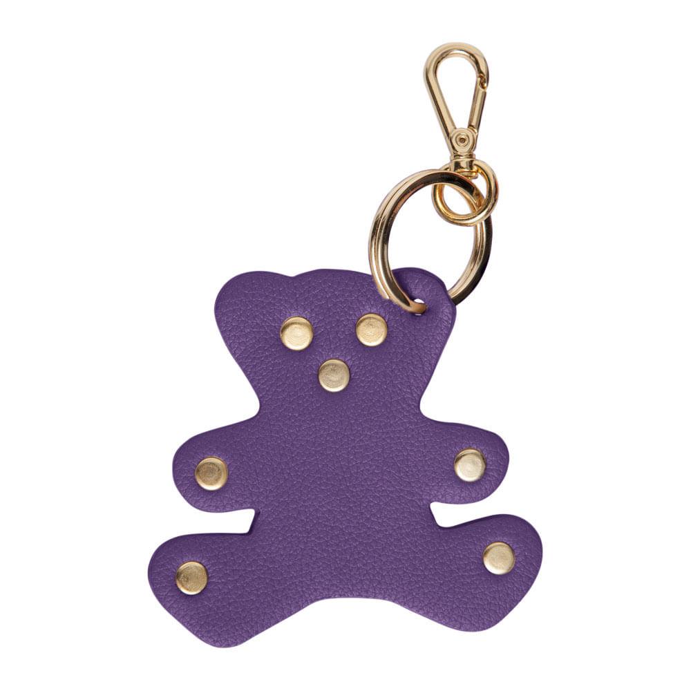 Chaveiro-Urso-Purple-Liso