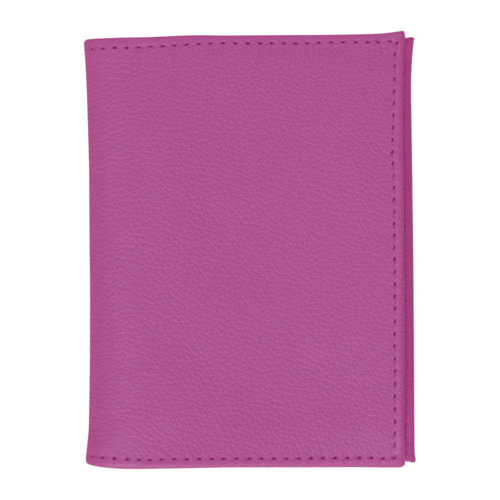 Porta-Documentos-de-Carro-Fucsia-Liso