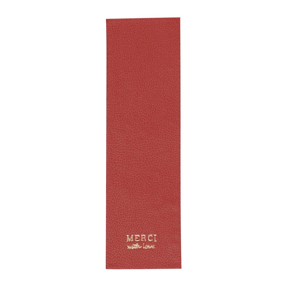 Marcador-de-Livro-Vermelho-Liso