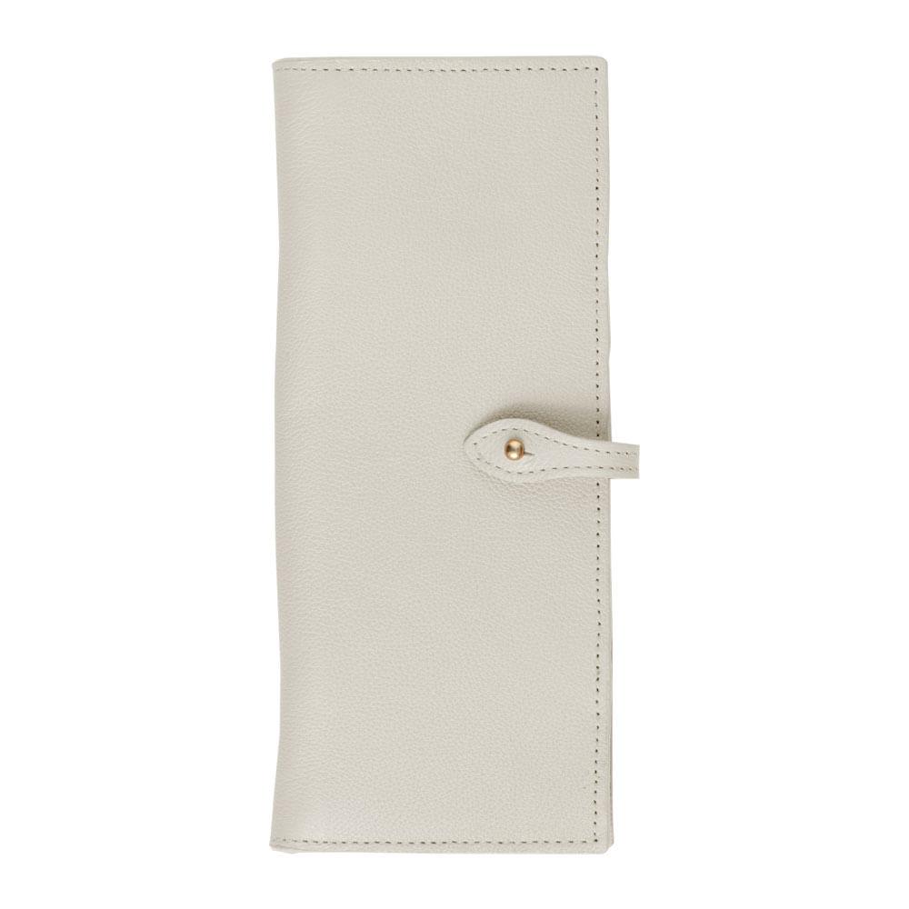 Porta-Cheque-Off-White-Liso