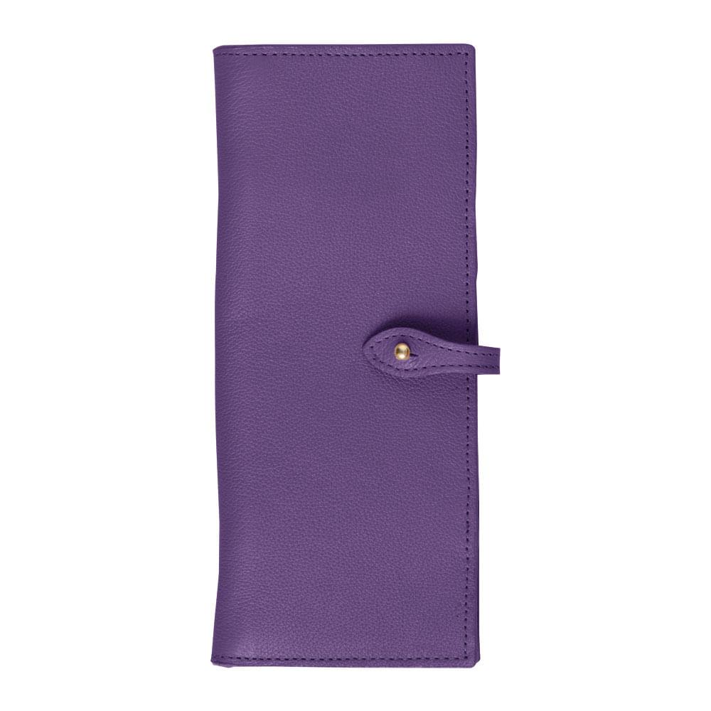 Porta-Cheque-Purple-Liso