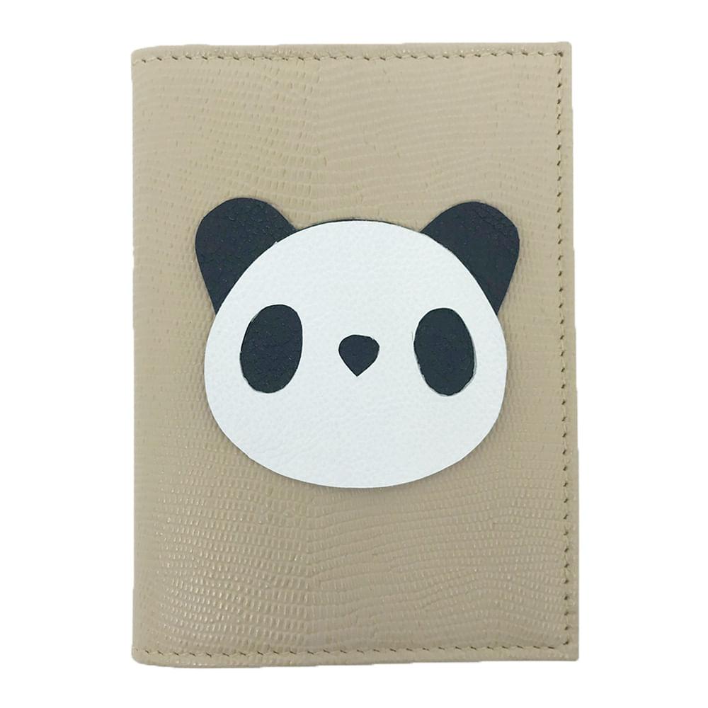Porta-Passaporte-Little-Panda-Rose-Lesarzinho