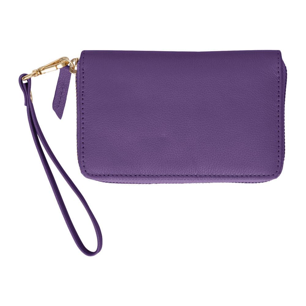 Carteira-de-Dinheiro-Media-Ziper-Purple-Liso
