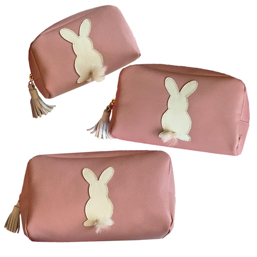 Kit-Necessaire-Little-Rabbit-Algodao-Doce-Safiano
