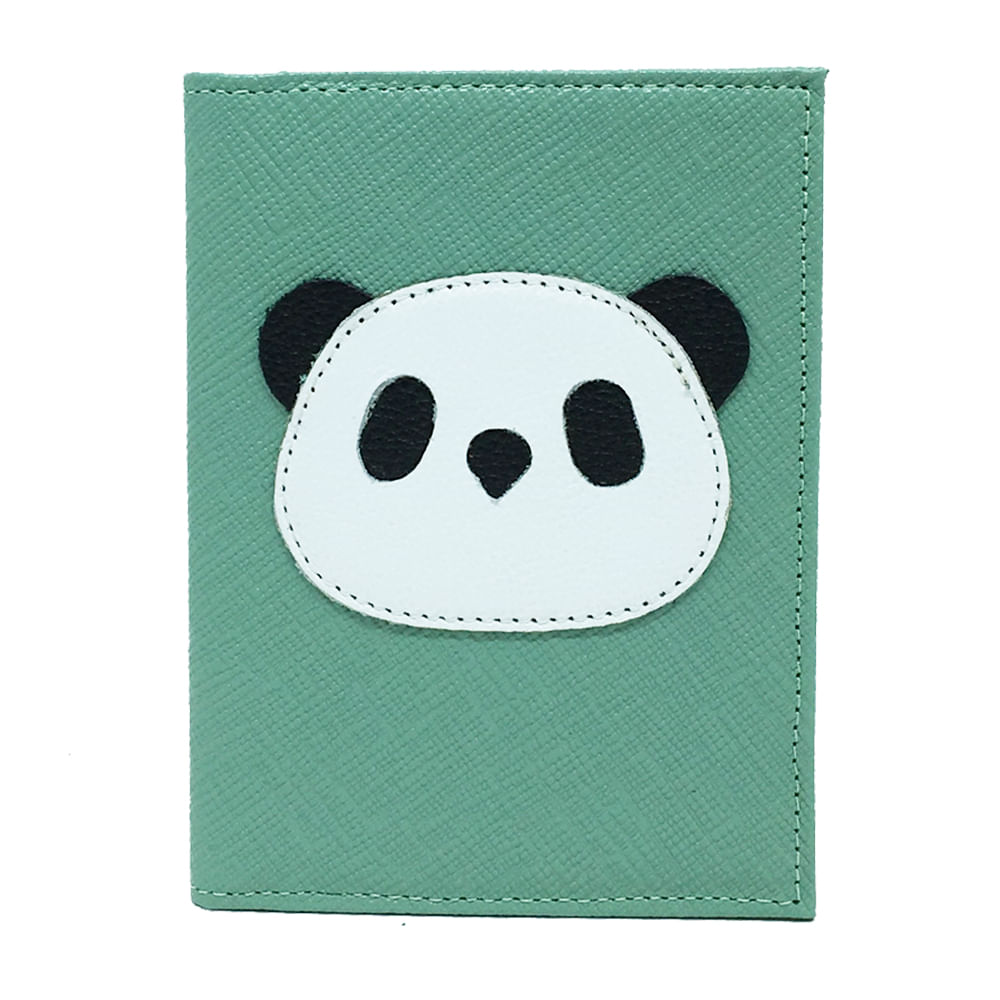 Porta-Passaporte-Little-Panda-Menta-Prada