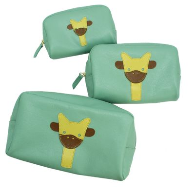 Kit-Necessaire-Little-Giraffe-Menta-Liso