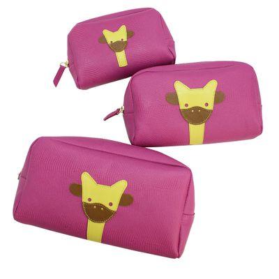 Kit-Necessaire-Little-Giraffe-Pink-Lesarzinho