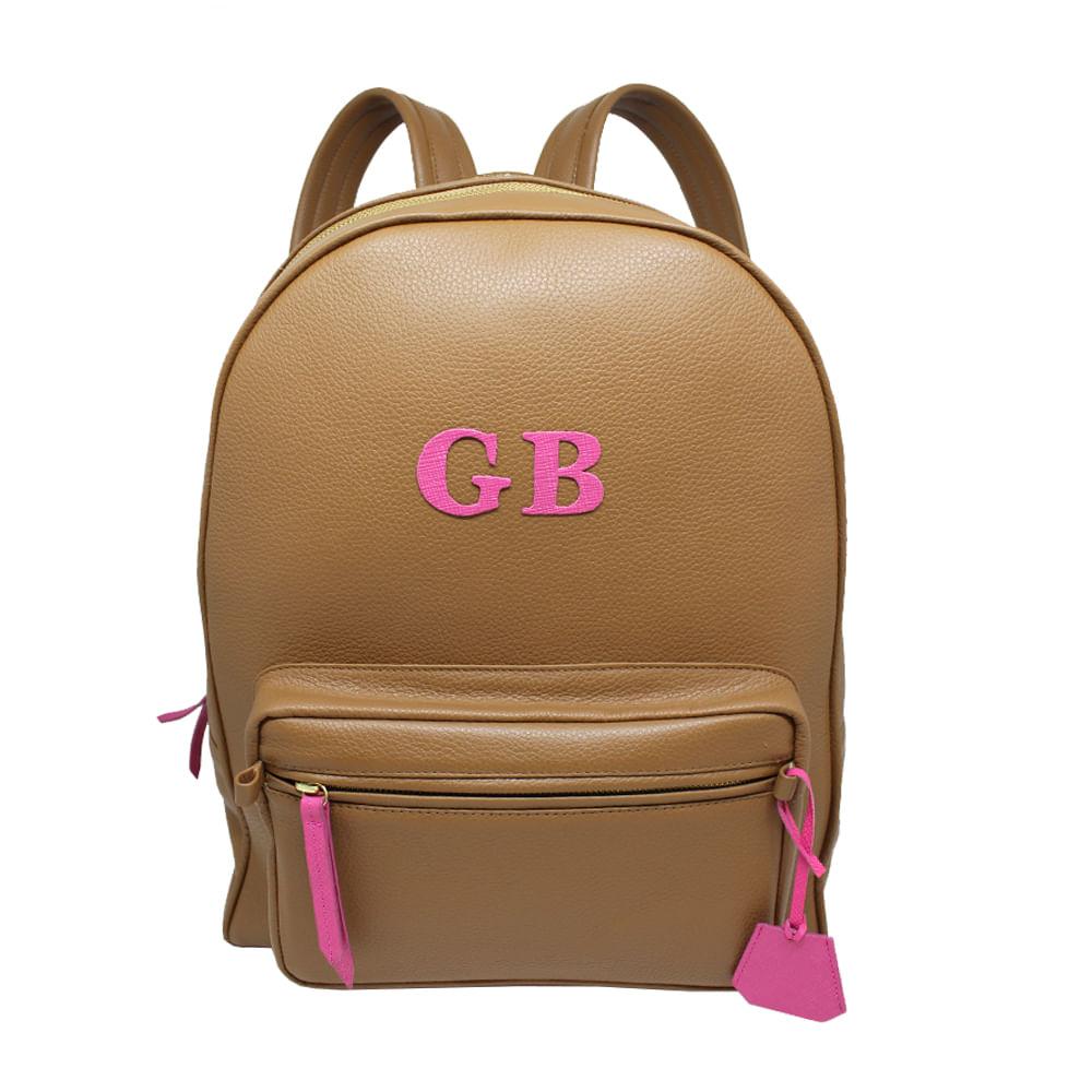 merci-with-love-mochila-berlim-colors-caramelo-liso-com-letrao-pink-prada-frente