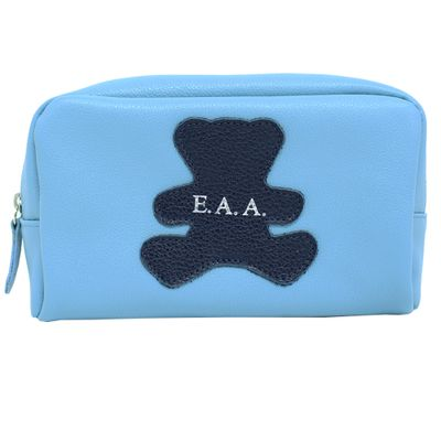 merci-with-love-necessaire-little-bear-m-aqua-liso-com-marinho-liso-frente