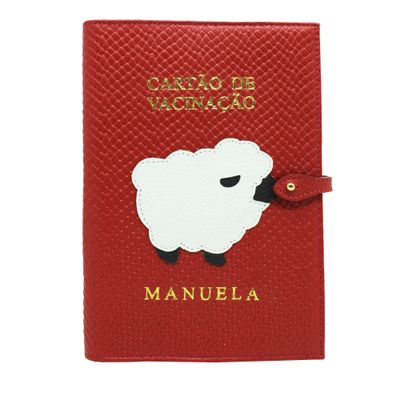 merci-with-love-porta-cartao-vacina-ovelha-vermelho-escama-frente