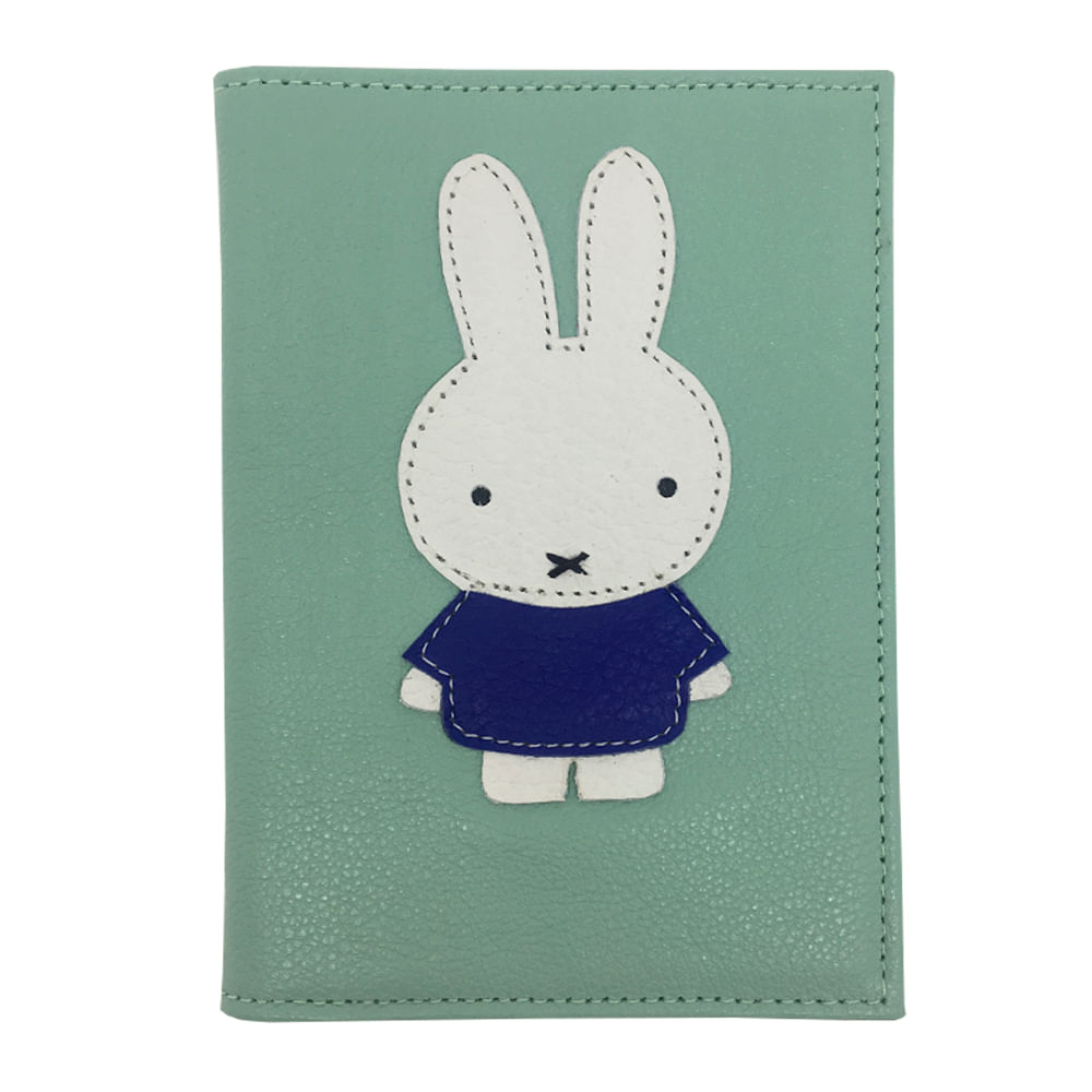 merci-with-love-porta-passaporte-miffy-menta-liso-frente