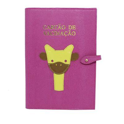 merci-with-love-porta-cartao-vacina-little-giraffe-pink-lesarzinho-frente