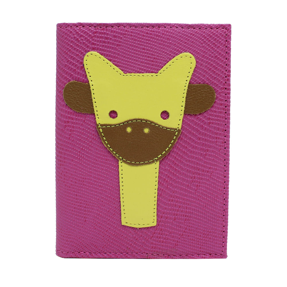 merci-with-love-porta-passaporte-little-giraffe-pink-lesarzinho-frente