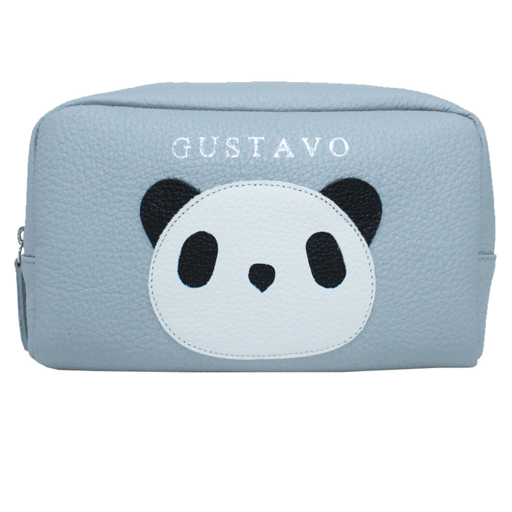 merci-with-love-necessaire-little-panda-m-cinza-claro-frente
