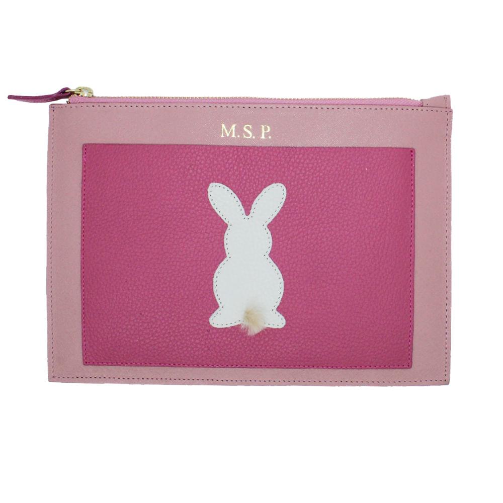 merci-with-love-porta-documento-little-rabbit-algodao-doce-safiano-com-chicletes-liso-frente