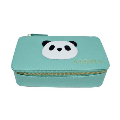merci-with-love-porta-joias-lourdes-little-panda-menta-prada-frente