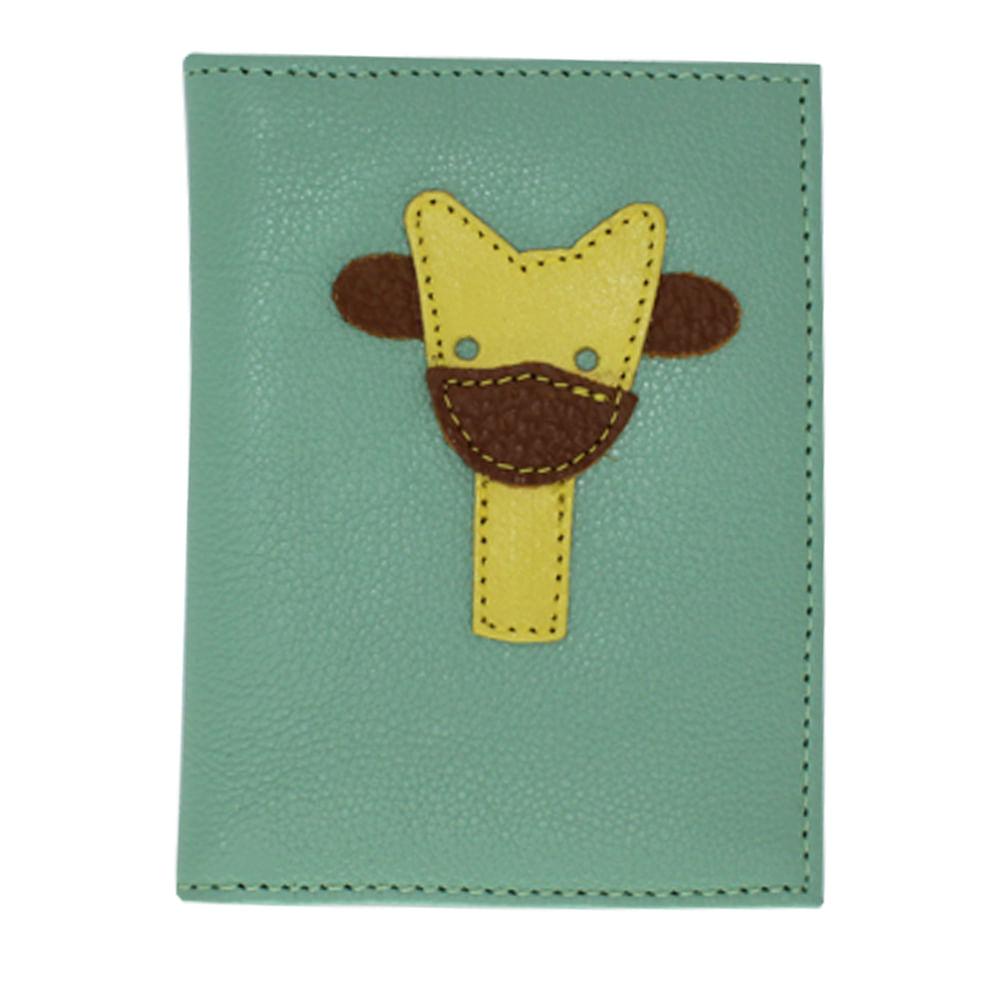 merci-with-love-porta-identidade-infantil-little-giraffe-menta-liso-frente