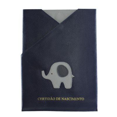 merci-with-love-porta-certidao-de-nascimento-little-elephant-marinho-frente