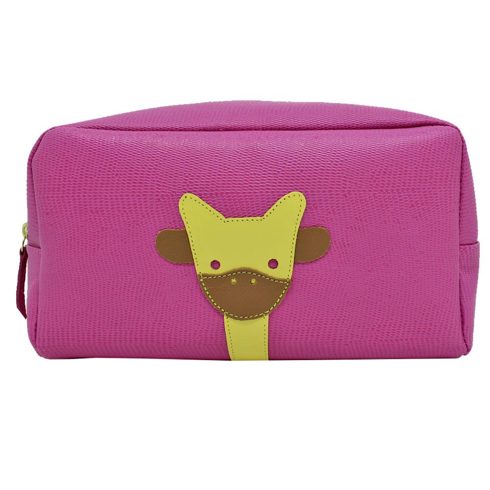 merci-with-love-necessaire-little-giraffe-g-pink-lesarzinho-frente