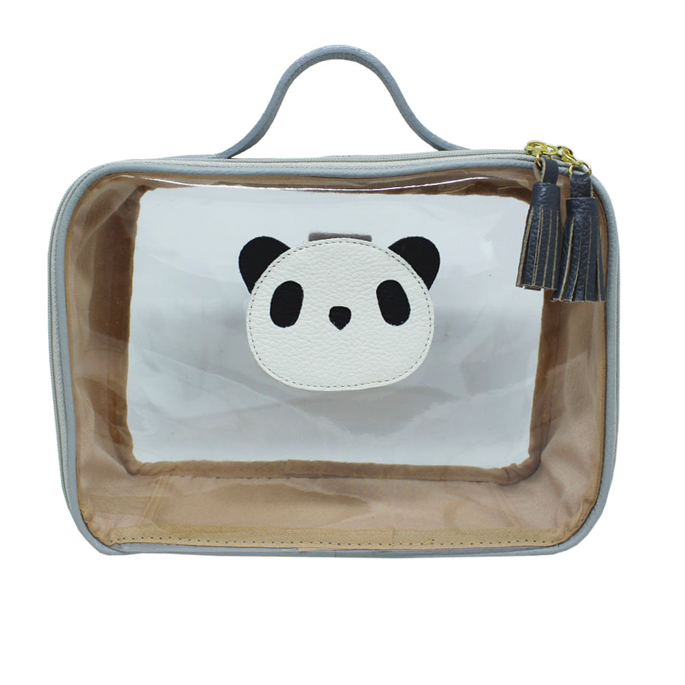 merci-with-love-necessaire-crystal-little-panda-cinza-claro-pendente-chumbo-frente