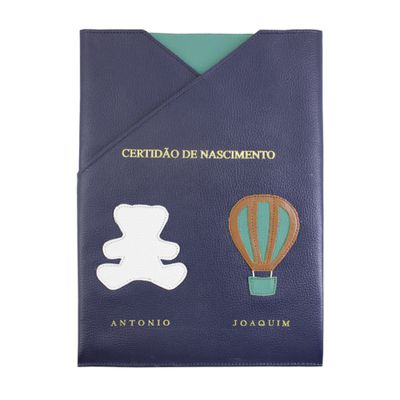porta-certidao-de-nascimento-little-bear-ballon-marinho-liso-esmeralda-liso-frente