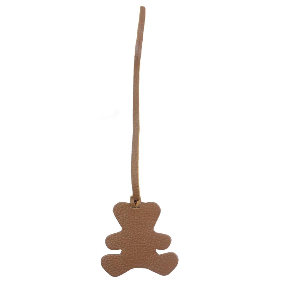 tag-de-mala-little-bear-caramelo-liso-frente