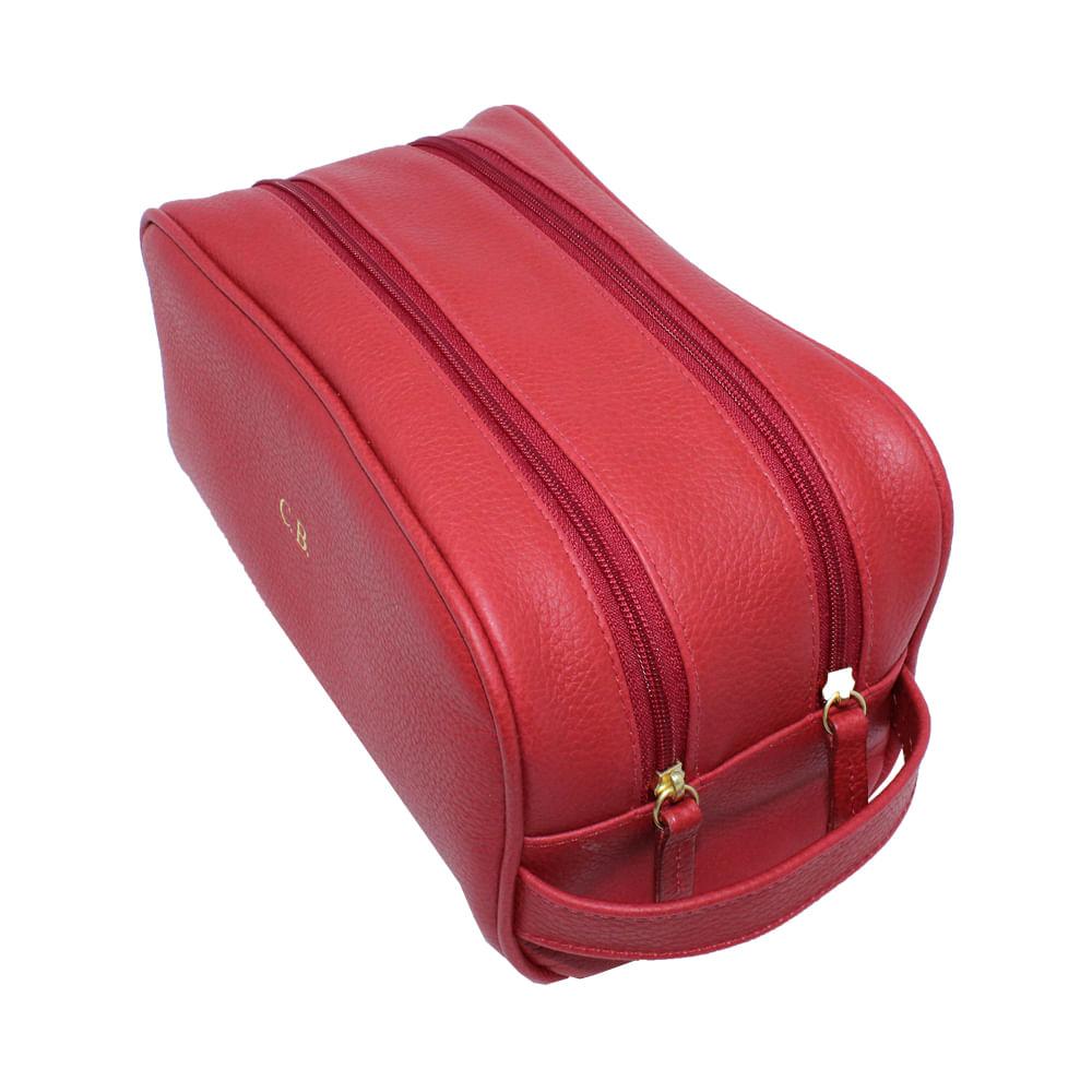 merci-with-love-kit-necessaire-hugo-vermelho-liso-frente