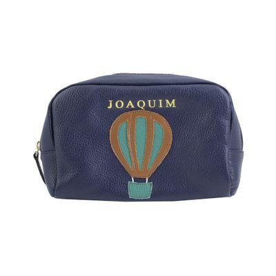 necessaire-julie-ballon-marinho-liso-esmeralda-liso-frente-m