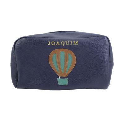necessaire-julie-ballon-marinho-liso-esmeralda-liso-frente-g