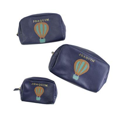 necessaire-julie-ballon-marinho-liso-esmeralda-liso-kit