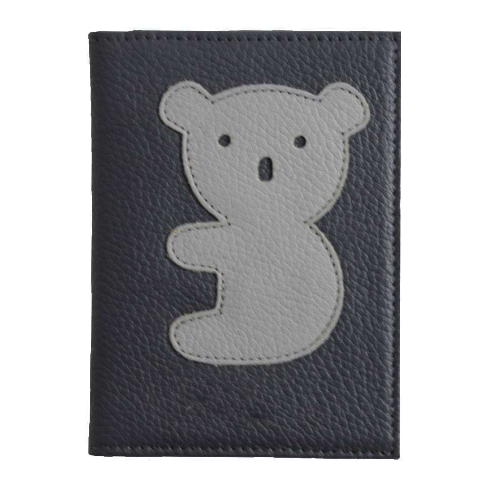 merci-with-love-porta-passaporte-little-koala-chumbo-liso-cinza-claro-liso-frente