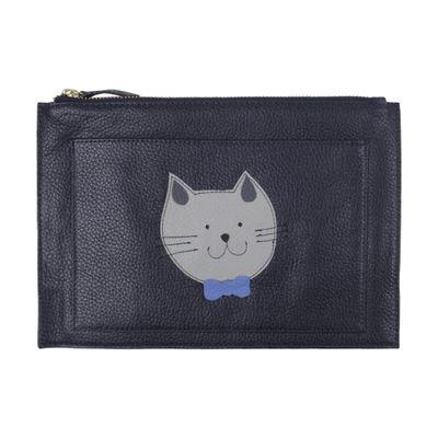 merci-with-love-porta-documentos-little-cat-marinho-frente