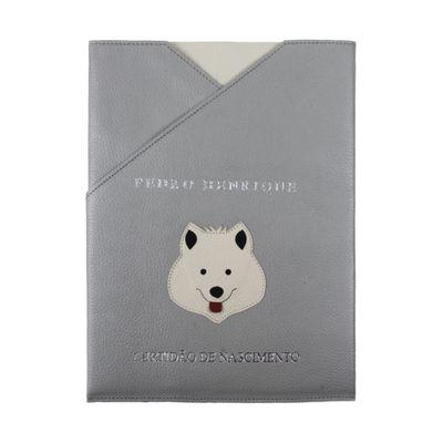 merci-with-love-porta-certidao-nascimento-little-dog-cinza-claro-frente
