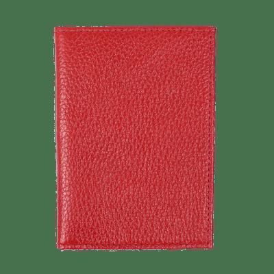 merci-with-love-porta-documento-de-carro-vermelho-liso-frente