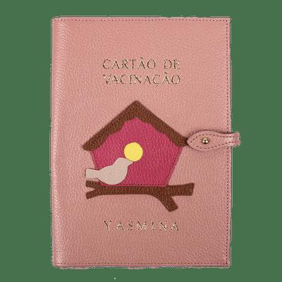 merci-with-love-porta-cartao-de-vacina-algodao-doce-liso-little-bird-chiclete-rose-liso-lima-liso-frente