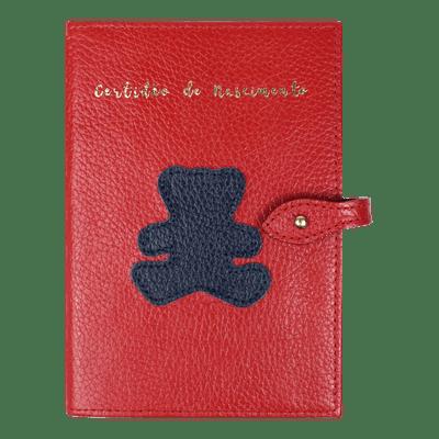 merci-with-love-porta-mini-certidao-nascimento-little-bear-vermelho-liso-urso-marinho-liso-frente