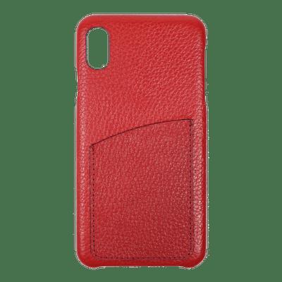 merci-with-love-case-iphone-xs-max-com-porta-cartao-vermelho-liso-frente
